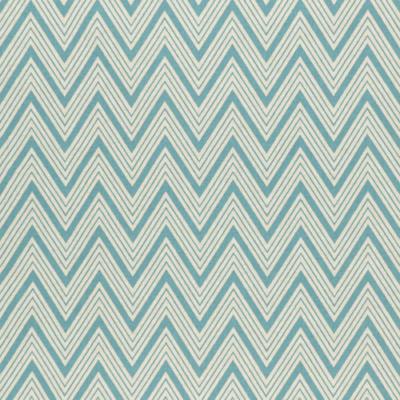 Lonetta vászon türkiz-natúr cikk-cakk